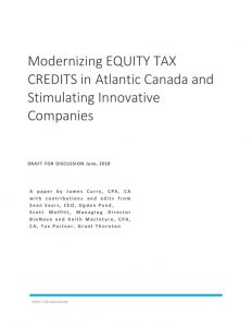 thumbnail of Modernizing Equity Tax Credits in Atlantic Canada V1